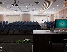 3D model Lecture Hall interior