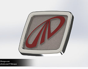 3D model Request Tata Mahindra Logo