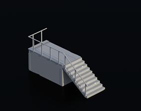 Porch 01 3D asset
