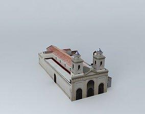 3D model Catedral de Santa Fe