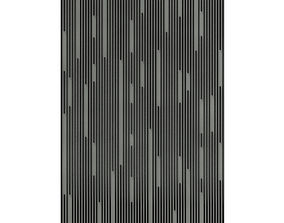 3D Black Wall Panel