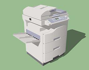 Copy Machine - BTEC CP70 - Color Photocopier 3D