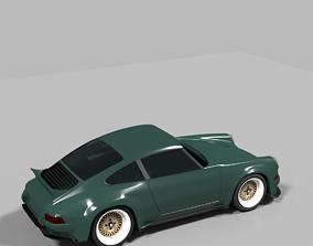 Porsche 911 by Singer 3D model