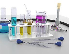 Chemistry Lab Equipment 3D model