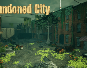 Abandoned City Unreal 3D asset