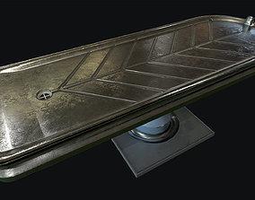 3D model Morgue Autopsy Table