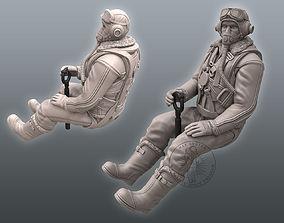 3D print model Spitfire Pilot