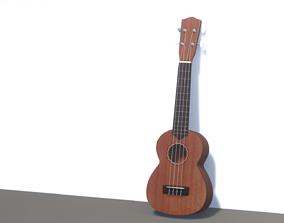 Ukulele ukulele 3D model