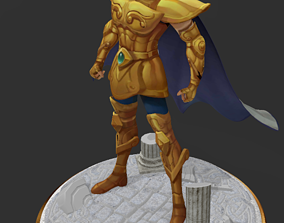 Saint Seiya - Aiolia Leo 3D printable model