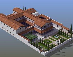 Large Luxury Villa 3D model