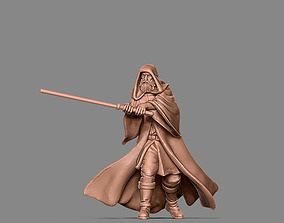 Old Jedi Master - 35mm scale 3D print model