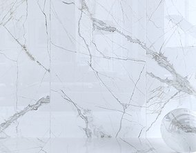 3D Wall Tiles Museum Glacier White Set 160x320 Set 2