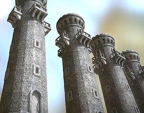 Medieval Guardtower 3D asset
