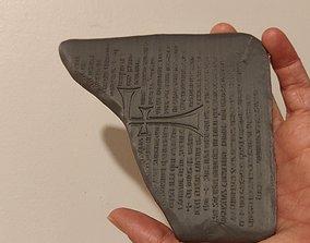Indiana Jones The last crusade Tablet 3D print model