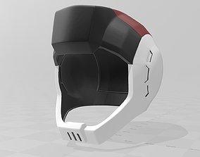 Gundam MS Pilot driver Helmet Zeon 3D printable model 2
