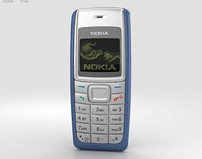 Nokia 1110 Blue 3D phone