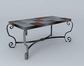 scroll Table 3D model