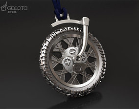 Ebiker rotating small original pendant 3D print model
