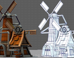 3D model Wind Turbine V01