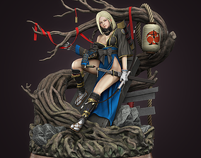 Android 18 samurai version 3D printable model