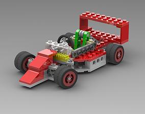 Lego Go-Kart Racing 3D model