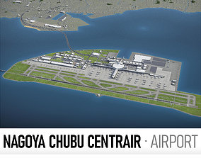3D asset Chubu Centrair International Airport - NGO