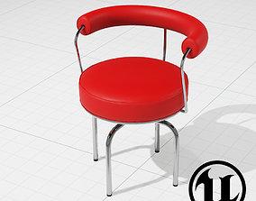 LC7 Swivel Chair UE4 3D asset