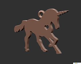 print 3D print model Horse Pendant