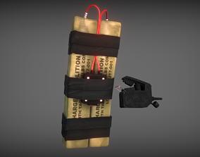C-4 C4 explosive 3D asset