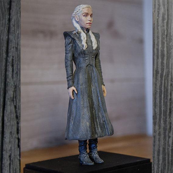 Daenerys Targaryen 3D printed