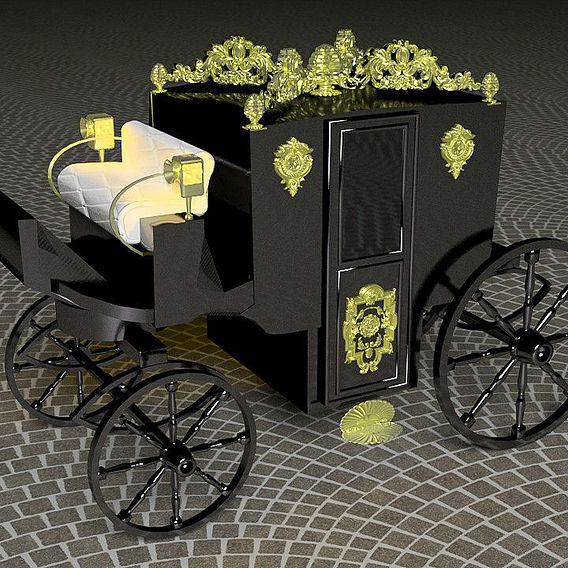 Horse Carriage of Count Dracula