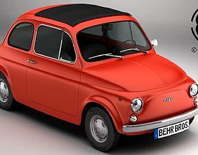 3D model Fiat 500 R