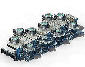 Machinery - Dismantling Plant 01 3D