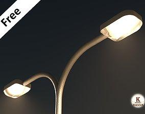 3D model Street light bulb