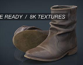 3D asset Womens Boots 2