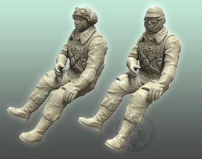 3D printable model ZERO Pilot figurines