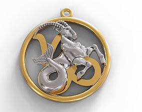 3D printable model Capricorn symbol