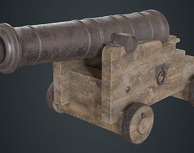 3D model Vessel Cannon 1B