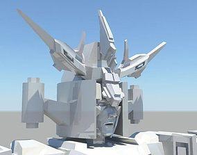 3D model Robot Fighter Rig AAA