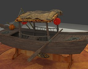 CChinese fishing boat 3D