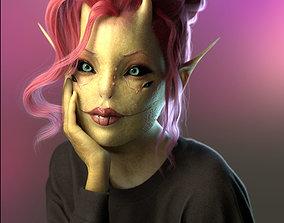 Sweet Alien Girl 3D