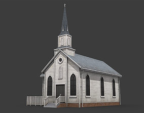 Church 3D asset VR / AR ready