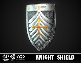 Knight Shield 09 3D model