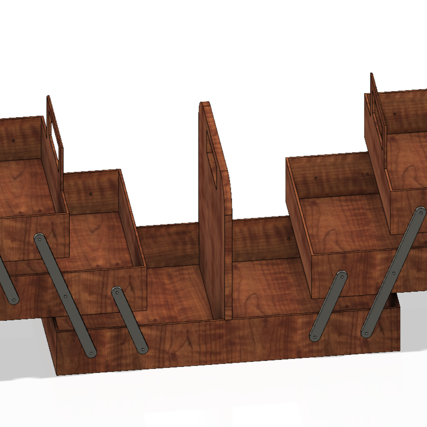 universal tool box – organizer - STL OBJ  AMF model for 3D-print and cnc