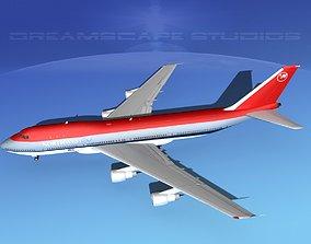 Boeing 747-100 Northwest Airlines 3D