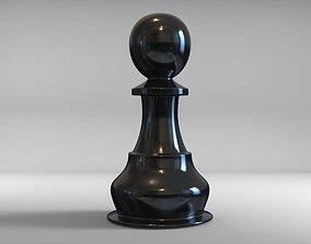 chess medal 3D model