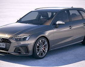 touring Audi S4 Avant 2020 3D model