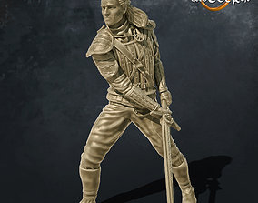 The Witcher Henry Cavill Netflix Dynamic 3D print model 4