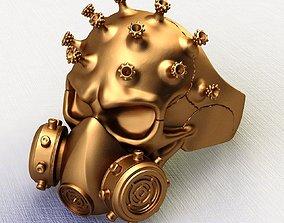 3D printable model Ring Covid-19