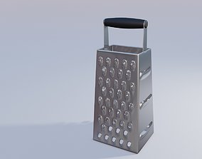 cheese grater kitchen utensils 3D model